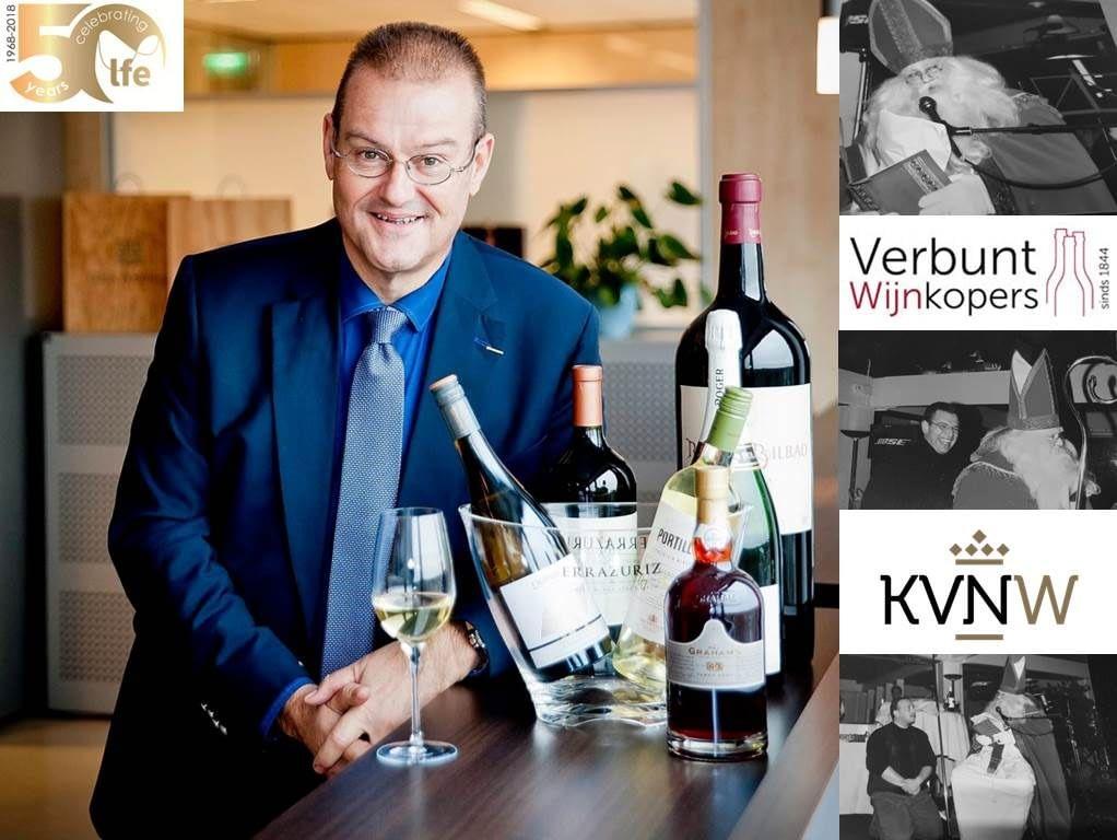 Peter van Houtert van Verbunt Wijnkopers en voorzitter van de KNVW