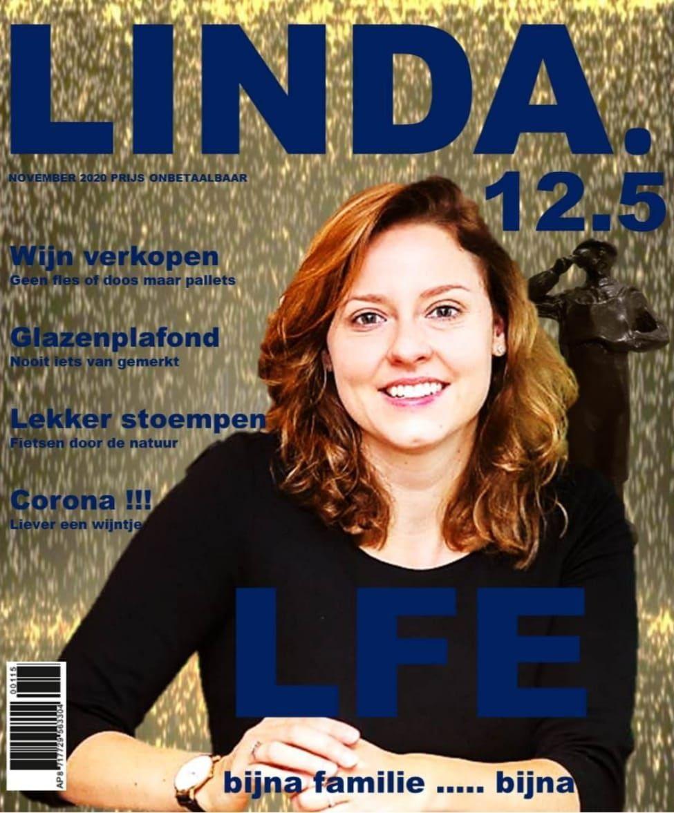 LINDA DE BRUIN 12.5 JAAR IN DIENST BIJ LFE